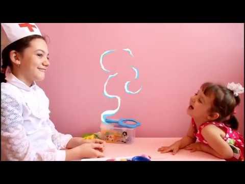 ИГРАЕМ В ДОКТОРА  Смешные пациенты   Видео про доктора для детей