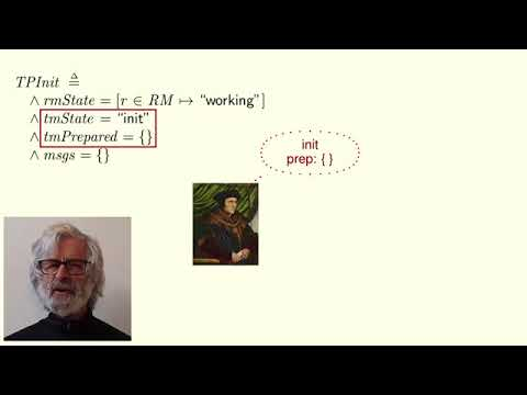 Lamport TLA+ Course Lecture 6: Two-Phase Commit