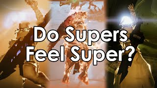 Destiny Taken King: Damage Dealing Supers Don