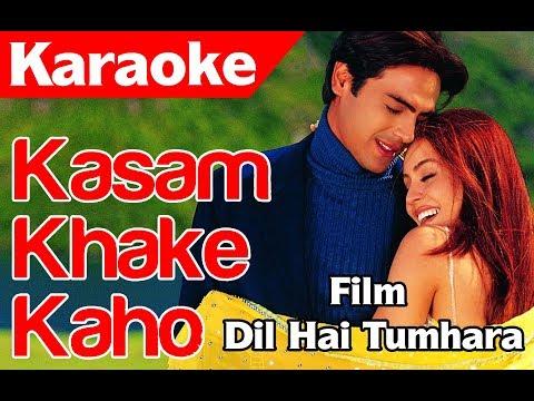Kasam Kha Ke Kaho - Karaoke By : Mijjan Khan