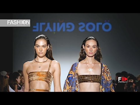 NUDE SWIM - FLYING SOLO SS 2020 New York - Fashion Channel