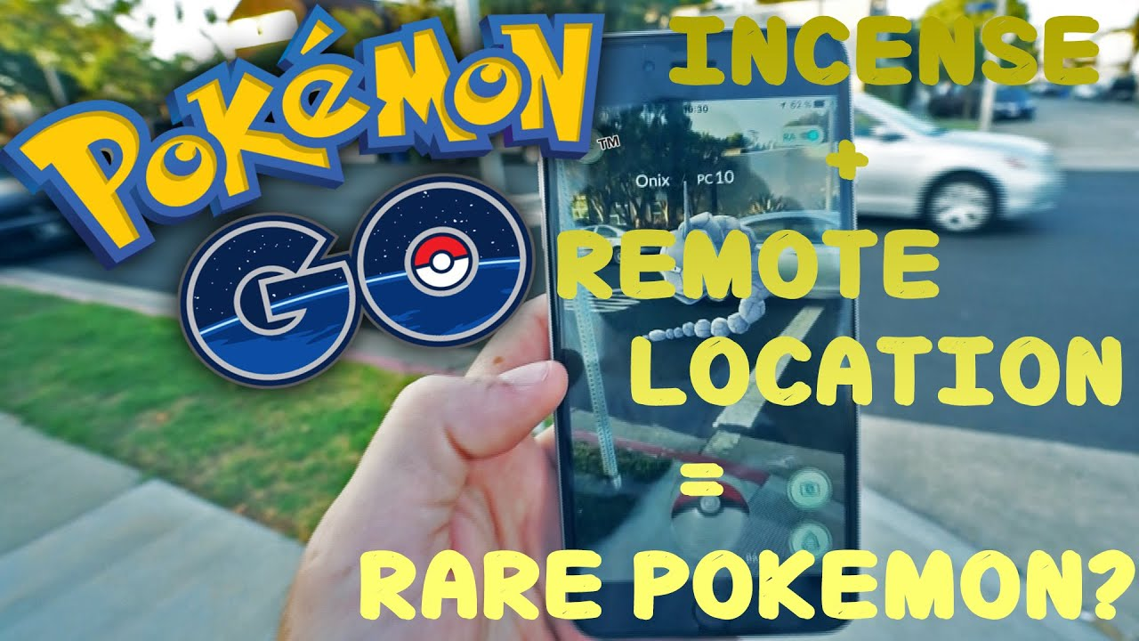 pokemon go remote spot incense youtube. Black Bedroom Furniture Sets. Home Design Ideas