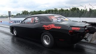 World Record ProCharged Challenger -vs- Turbo Mustangs