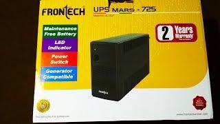 Unboxing Frontech UPS Unboxing Budget UPS for Desktop PC Low Price Computer UPS buy Online