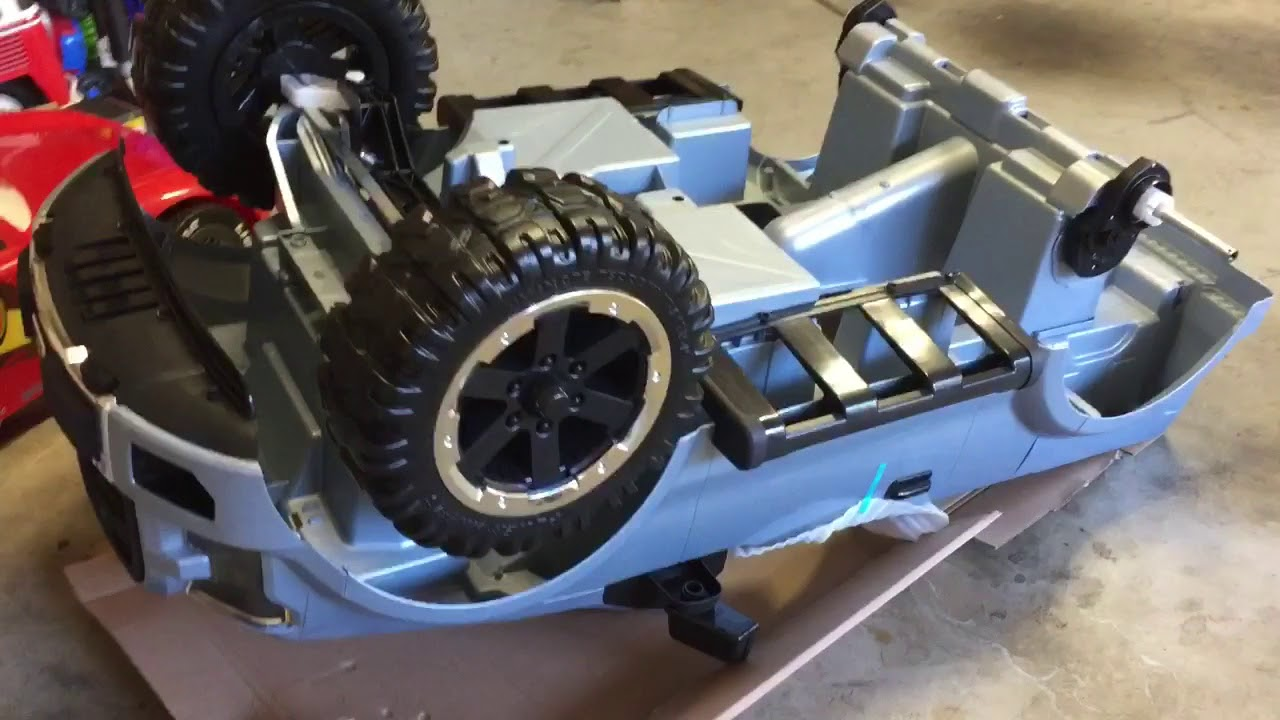 ford f 150 raptor power wheels unboxing and assembly youtube. Black Bedroom Furniture Sets. Home Design Ideas