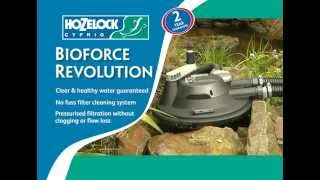 Hozelock Bioforce Revolution -  Pressurised Pond Filter at Water Gardening Direct