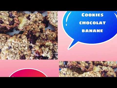 goûter/collation/petit-déjeuner-ou-en-cas-weight-watchers-recettes-cookies-chocolat-banane