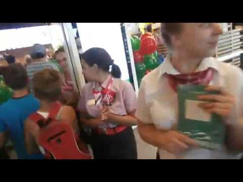 BARNAUL RUSSIA STAMPEDE MCDONALDS OPENING