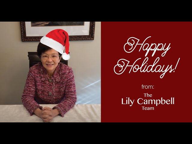 Happy Holidays from the Lily Campbell Team!