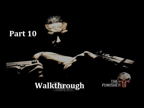 The Punisher (2005) Walkthrough 10 Pier 74 1/2 Black Widow