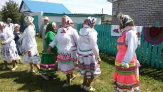 Семык (Марийская Троица) 2016 в Большой Амзе. Башкирия Краснокамский р.н