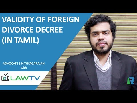 Indian Kanoon - Validity of Foreign Divorce Decree in India (In Tamil ) - LawRato