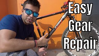 How To Fix Front Derailleur Shifting Issue | Front Gear Shifting Problem | MTB Gear Cycle