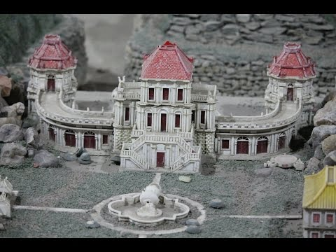 Old Summer Palace Scale Model / 圆明园 / 圓明園