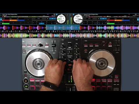 Pioneer DDJ SB3 + Serato - House & Deep House Mix (Beginner)