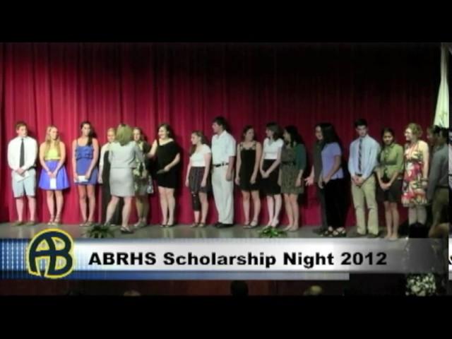 ABRHS Scholarship Night 2012 PT1