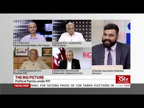 The Big Picture - Political Parties under RTI