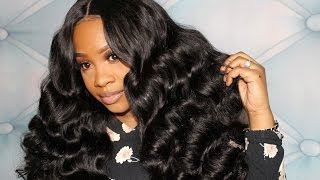 Ali Grace Series: Part 2:  Curling Wand Tutorial on loose wave hair