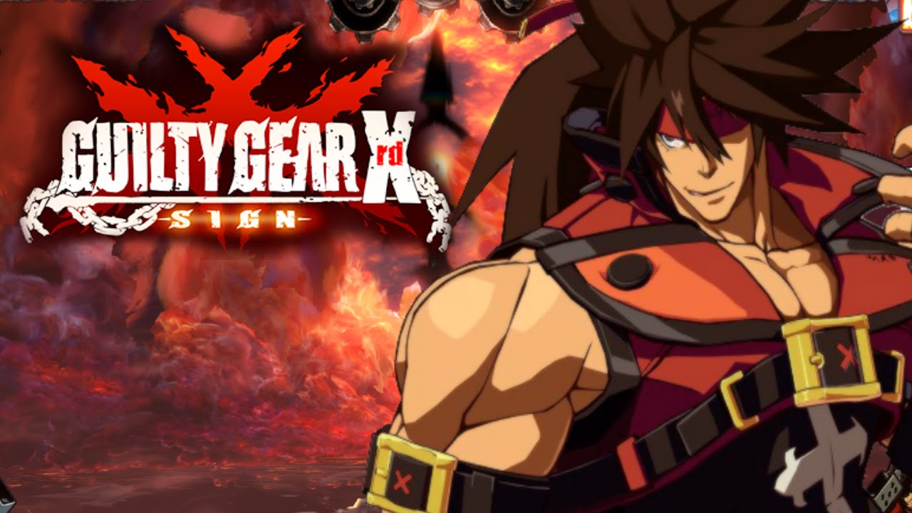 One shot guilty gear xrd sign 3d anime explosion