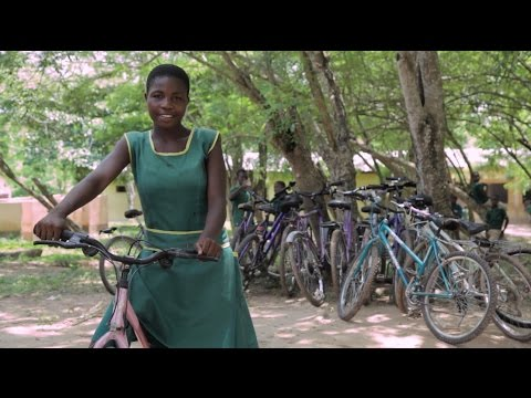 Stella's Story - A Bicycle for School on YouTube