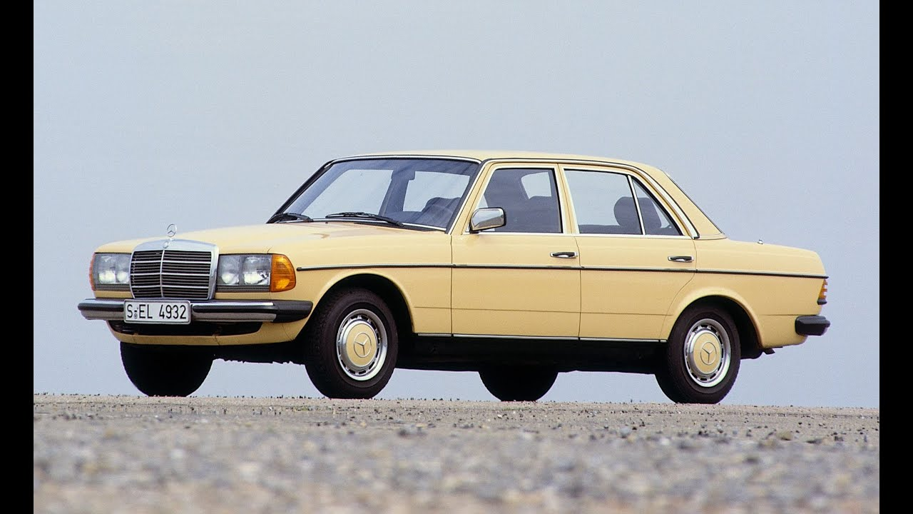 Mercedes benz w 123 development of a legendary for Mercedes benz 80s