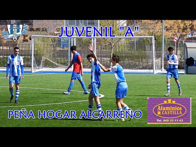 HOGAR ALCARREÑO JUVENIL A 7  4 C D  SIGUENZA 19 MARZO 2021  PEÑA HOGAR ALCARREÑO .ALUMINIOS CASTILLA