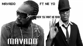 Mavado Ft Ne-Yo - I Know You Want Me [ Official Remix ] - YouTube.flv