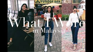 What I Wore in Malaysia | Karla Aguas