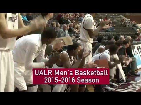 Congrats UALR Men's Basketball (2015-16)! - YouTube