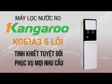 Máy lọc nước RO nóng lạnh Kangaroo 5 lõi – 2 vòi nóng lạnh riêng biệt! (KG61A3) | Điện máy XANH