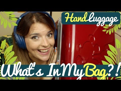 Whats In My Hand Luggage? | Packing for Walt Disney World | Krispysmore | 2017