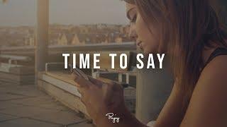 """Time To Say"" - Emotional Piano Rap Beat R&B Hip Hop Instrumental 2019 | BeezeBeats #Instrumentals"