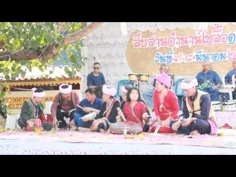 การแสดงขับลื้อ-ไทลื้อ Thai Lue ประเทศไทย-ไทลื้อแห่งสิบสองปันนา 76