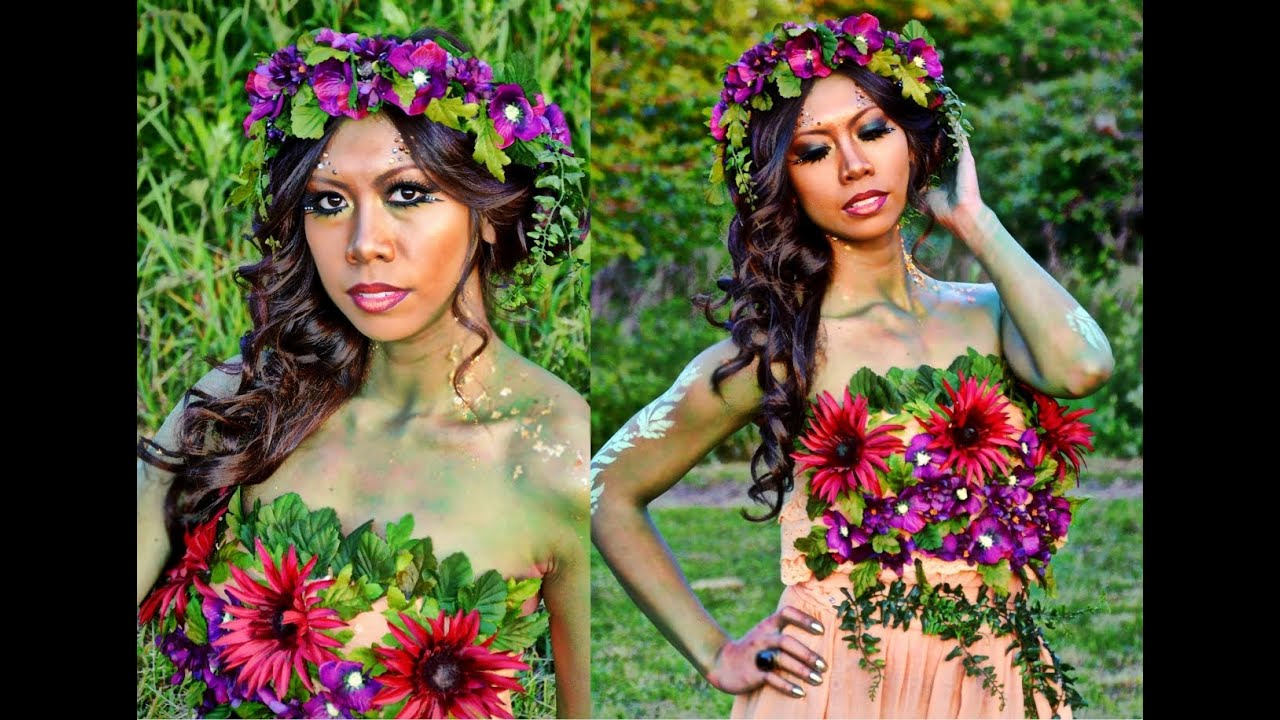 NYX FACEAWARDS Fantasy Makeup: Mother Nature - YouTube