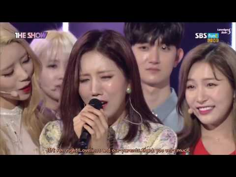 [ENG-SUB] 170516 The Show - Lovelyz 1st Win + Encore