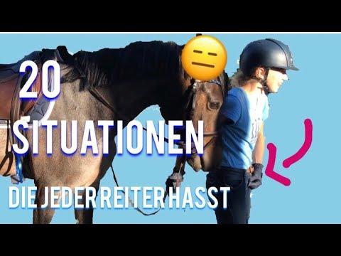 20 Situationen die JEDER Reiter HASST..!😒🙄| Fay&Caba