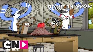 Sürekli Dizi | Mordecai ve Rigby Mordecai ve Rigby ile Tanışırsa | Cartoon Network Türkiye