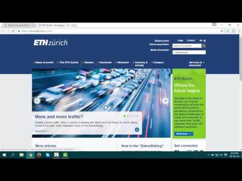 ETH Zurich – Swiss Federal Institute of Technology, Switzerland