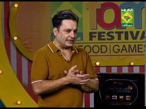 Live cooking in Dawlance Microwave Oven Hum Masala