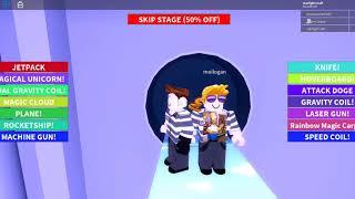 ROBLOX escapes from prison while struggling!