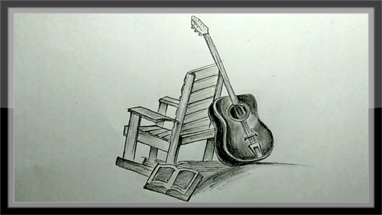 Pencil Drawing A Beautiful Picture Easy Step By Step Youtube