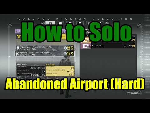 Metal Gear Survive- How to Solo Abandoned Airport on Hard