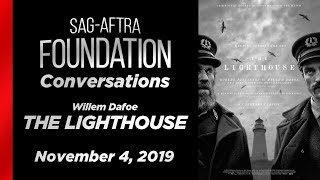 Conversations with Willem Dafoe of THE LIGHTHOUSE