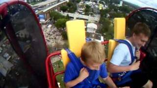 Skyscraper Extreme Thrill Ride - Funny Freakout - Minnesota State Fair