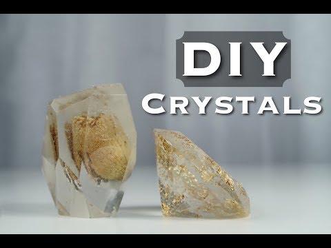 DIY CRYSTAL PAPERWEIGHTS
