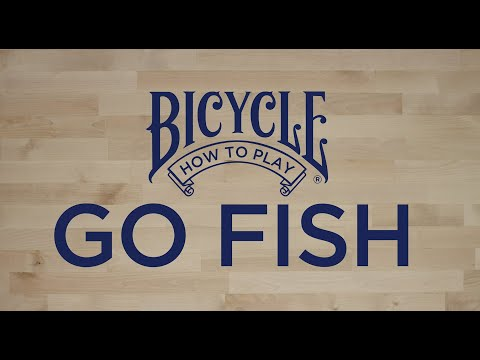 How To Play Go Fish - Bicycle Playing Cards - Card Game Tutorial & Rules