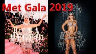 Наряды бала Met Gala 2019, тема Кэмпа, фото костюмов и образов : Кэти Перри, Леди Гага,  Москино