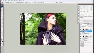 BIGBAD.ru - Урок - Как сделать коллаж в фотошопе.
