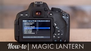 Magic Lantern Walkthrough/Install - Canon T5i