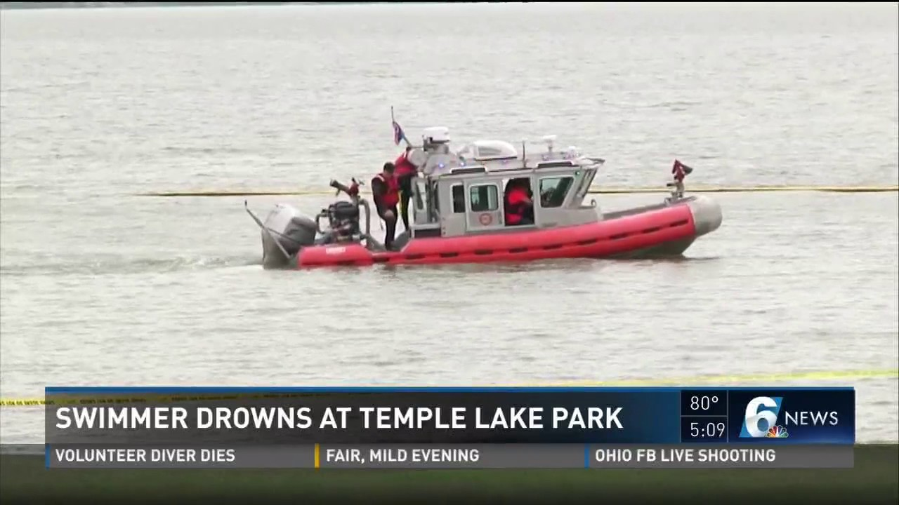Swimmer Drowns at Temple Lake Park